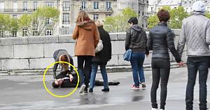Un om a căzut şi a strigat după ajutor... Ce s-a întâmplat apoi m-a lăsat fără cuvinte!