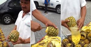ananas-curatat