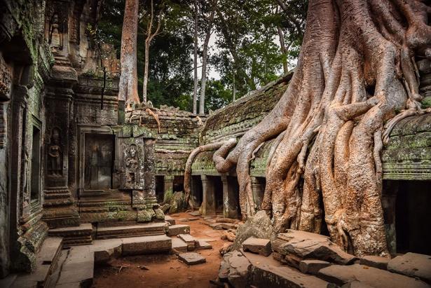 17. Angkor, Cambodgia.