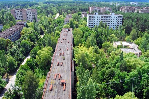 19. Oraşul-fantomă Pripyat, Ucraina.
