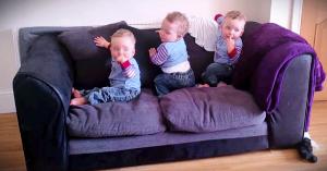 reactia-adorabila-tripleti