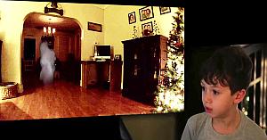 """A vrut dovada că Moşul există, aşa că au instalat o cameră. Imaginile """"surprinse"""" sunt edificatoare"""