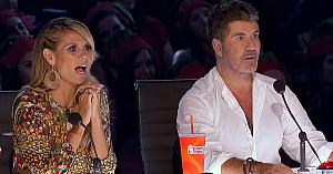 Când au văzut ce se întâmplă pe scenă - membrii juriului nu şi-au putut stăpâni reacţiile de uimire