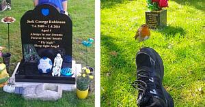Mama vizitează mormântul fiului său aşteptând un semn - însă nu anticipase niciodată ce avea să se întâmple!