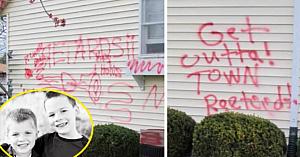 După ce au adoptat 2 copii, casa acestei familii a fost vandalizată. S-au îngrozit când au aflat motivul real