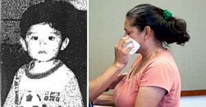 Acest copil de un an dispăruse fără urmă în 1995 - 22 de ani mai târziu mama lui leşină când gestul fostului soţ iese la iveală