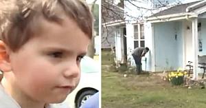 """Un băieţel de 3 ani strigă """"ajutor"""" şi fuge spre casa vecinilor. Când mama lui vede sânge, reacţionează imediat"""