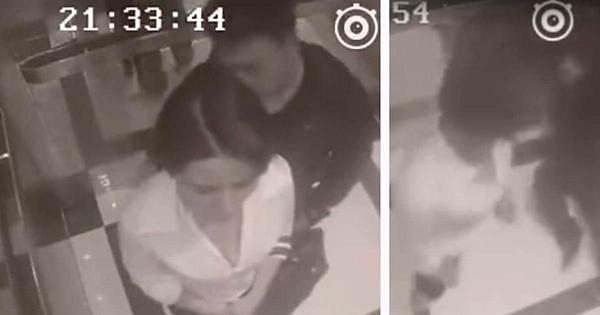 O femeie este agresată de un necunoscut în lift: Câteva clipe mai târziu el primeşte o lecţie pe care nu o va uita niciodată