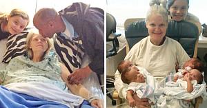 O femeie de 42 de ani era însărcinată cu triplete. Apoi medicul priveşte cu atenţie şi spune 4 cuvinte care îi fac pe toţi să suspine