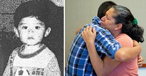 Acest copil de un an dispăruse fără urmă în 1995 - 22 de ani mai târziu mama lui aproape leşină când gestul fostului soţ iese la iveală