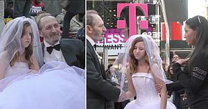 El are 65 de ani, ea doar 12. Urmăriţi reacţiile oamenilor când află că se căsătoresc