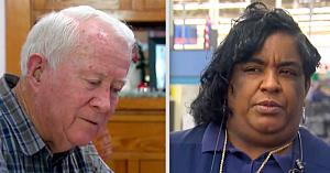 """Bunicul înmânează 2.300 USD în numerar casierei de la Walmart, dar aceasta refuză să îi transfere """"nepotului"""""""