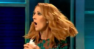 Céline nu-şi poate reţine uimirea când aude melodia ei preferată, dar mai ales când vede cine se află în faţa ei pe scenă