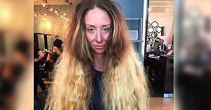 """După 7 ore de transformări înainte de nuntă, această femeie în sfârşit se simte """"frumoasă în pielea ei"""""""