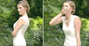 Mireasa aştepta ca nunta să înceapă, dar apariţia cuiva neaşteptat o face să izbucnească în lacrimi