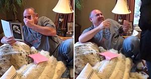 După pierderea celor 2 câini, fiicele îi fac tatălui un cadou nepreţuit. Imaginile surprinse i-au făcut pe toţi să lăcrimeze