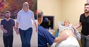 """Medicul i-a spus acestei femei de 2 metri că este """"prea mare"""" pentru a rămâne gravidă. Apoi cu toţii văd pruncul nenăscut la ultrasunete"""
