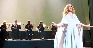 Celine Dion tocmai a lansat o nouă melodie, iar acum aceasta face înconjurul lumii
