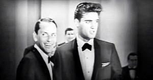 În urmă cu 62 de ani Elvis a făcut această piesă celebră, dar când i se alătură Frank Sinatra - e o adevărată încântare