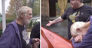 Sora a vândut la fier vechi maşina de vis a bătrânului. 62 ani mai târziu, fiul îl invită afară şi îl lasă fără replică