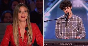 Un tânăr cântă o melodie de-a lui Lionel Richie - şi sună ca şi cum ar fi fost compusă special pentru el