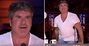 Simon Cowell îşi ţine răsuflarea în timp ce concurenta cântă primele versuri - 1 minut mai târziu juriul e în picioare