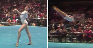 Primul zece perfect al Nadiei Comăneci la Cupa Americii 1976 dovedeşte că ea este cea mai mare gimnastă din istorie